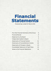 Financial Report 2017/2018