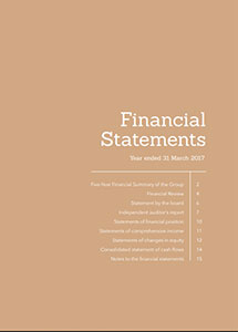 Financial Report 2016/2017