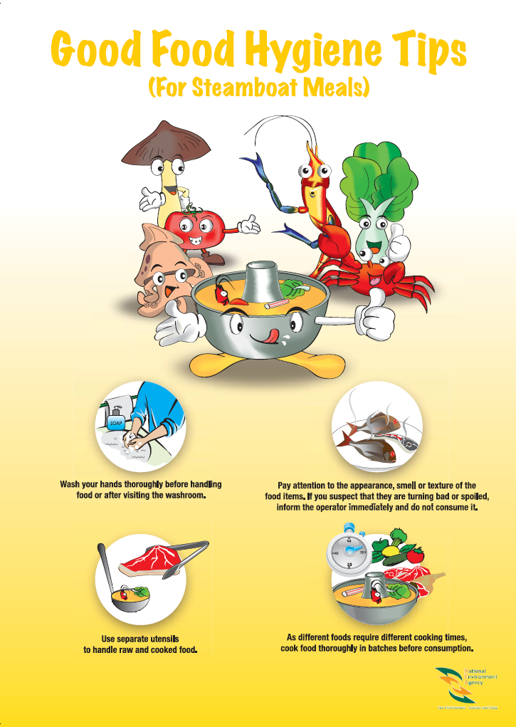 Good Food Hygiene Tips (For Steamboat Meals)